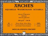 Arches Μπλοκ Ακουαρέλας Rough Grain 31x41cm 300gr 20 Φύλλων