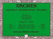 Arches Μπλοκ Ακουαρέλας Cold Pressed 23x31cm 300gr 20 Φύλλων