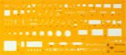 Στένσιλ ηλεκτρολογικών συμβόλων parallilo