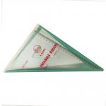 Lion Deluxe σετ τρίγωνα 45 και 60 μοιρών, 24cm με αρίθμηση, χωρίς πατούρα