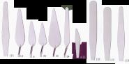 Σπάτουλες RGM Ιταλίας