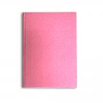 Χειροποίητο Βιβλίο Ευχών ροζ με doodles