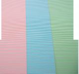 Χαρτόνι με ρίγες διάφορα χρώματα