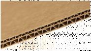 Χαρτόνι οντουλέ καφέ 1.5mm 70 x 100
