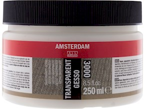 Amsterdam gesso transparent 3000