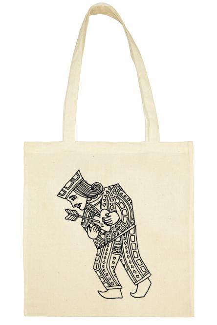 Υφασμάτινη τσάντα.100% Βαμβάκι.King