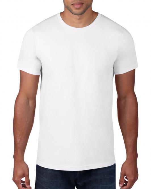 Λευκό βαμβακερό μπλουζάκι