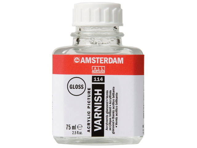 Amsterdam acrylic varnish gloss