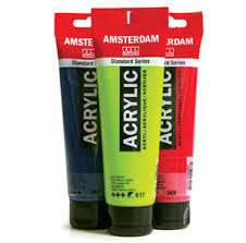 Amsterdam All Acrylics - Standard Series 120ml