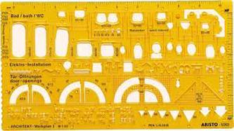Στένσιλ αρχιτεκτονικών συμβόλων Aristo