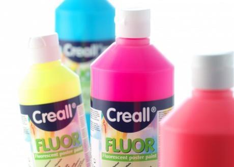 Fluor Paint -φωσφορίζον χρώμα