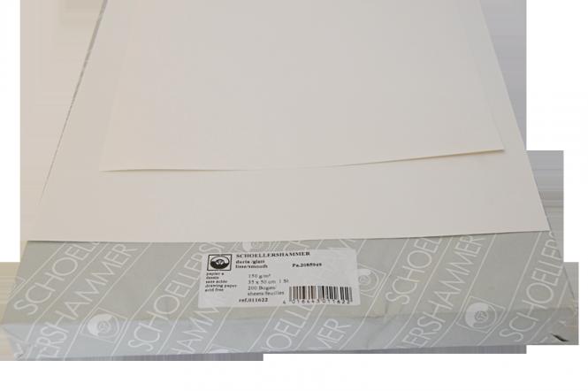 Χαρτιά σχεδίου σέλλερ γυαλιστερό ''glatt'' / 5 τεμάχια