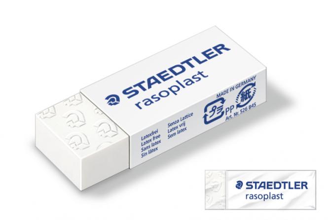 Γόμα λευκή σχεδίου Staedtler rasoplast