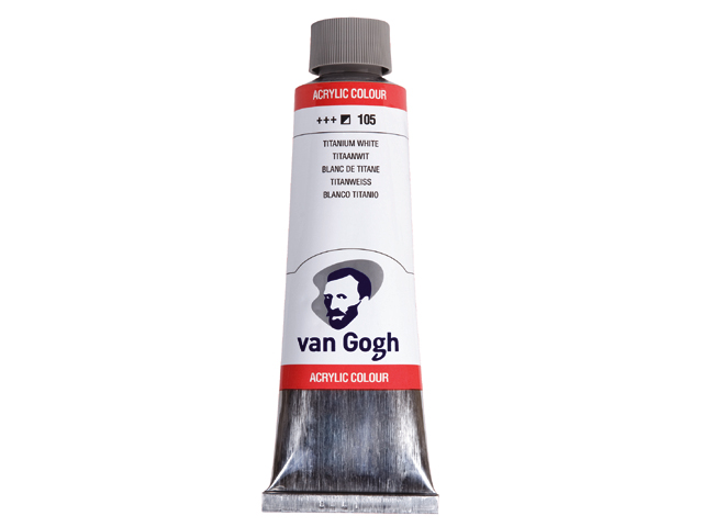 Ακρυλικό χρώμα van Gogh - Talens 40ml Yellow ochre light