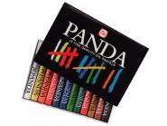 Panda oil pastels 12