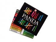 Panda oil pastels 24