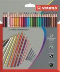 Stabilo water colour pencils sets