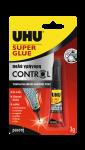 UHU SUPER GLUE CONTROL 3γρ. (1+1 δώρο)