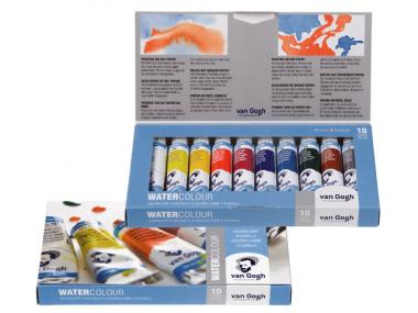 Van Gogh water colour basic set 10x10 ml