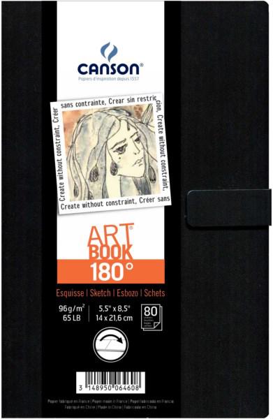 Canson 180˚art book ,80φ.